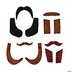 Mustache & Sideburns Kits