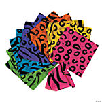 Neon Animal Print Bandanas