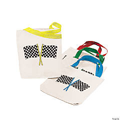 Checkered Flag Tote Bags