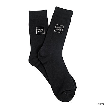 "Men's ""Best Man"" Socks"