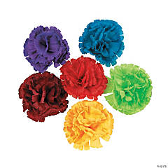 Polyester Fiesta Flower Hair Clips