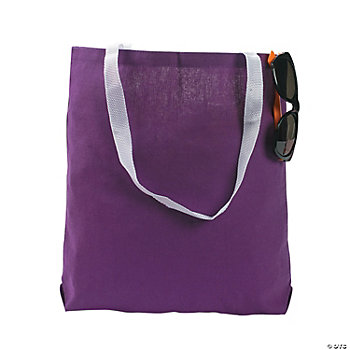 Large Purple Tote Bags