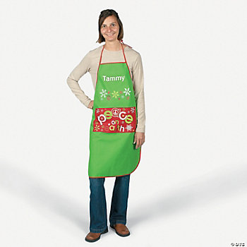 """Peace on Earth"" Adult Apron"