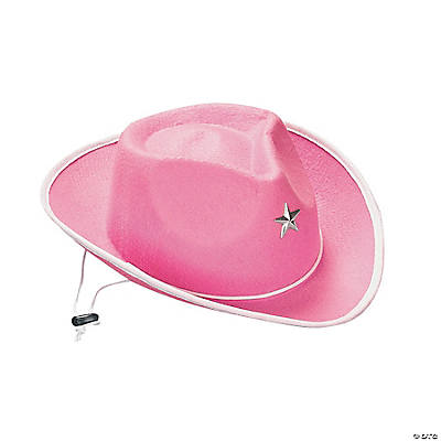 Child's Pink Cowgirl Hats