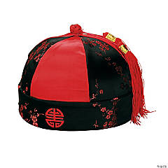 Mandarin Hat with Tassel