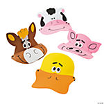 Foam Farm Animal Visors