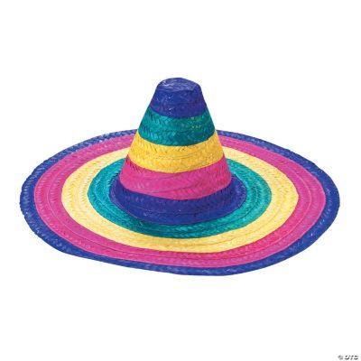Child's Rainbow Colored Sombreros