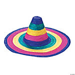 Child's Rainbow Colored Sombreros