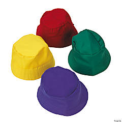 Child's Bright Bucket Hats