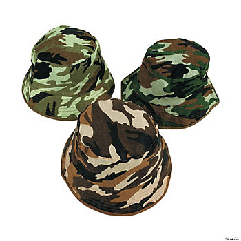 Child's Camouflage Bucket Hats