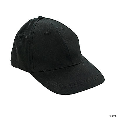 Black Baseball Caps