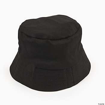 Black Bucket Hats