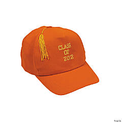 "Orange ""Class Of 2012"" Baseball Cap"