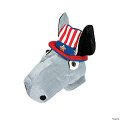 Plush Democrat Hat