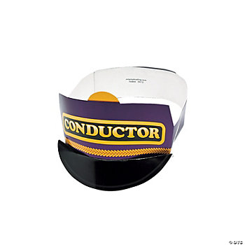 """Conductor"" Train Hats"