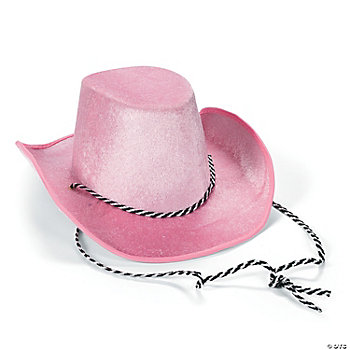Small Toddler-Sized Pink Cowboy Hat