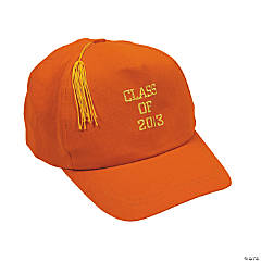 """Class Of 2013"" Orange Baseball Caps"