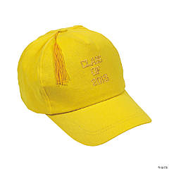 """Class Of 2013"" Yellow Baseball Caps"
