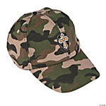 Camouflage Cross Baseball Cap