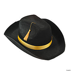 Graduation Cowboy Hat With Tassel