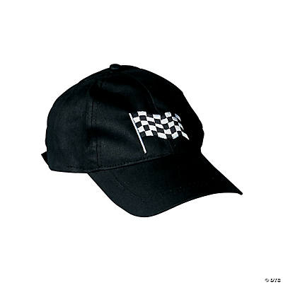Checkered Flag Baseball Caps