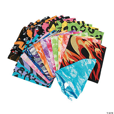 Novelty Bandana Assortment