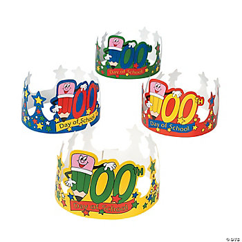 """100th Day Of School!"" Crowns"