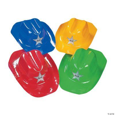 Child's Bright Color Cowboy Hats