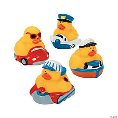 Vinyl Transportation Rubber Duckies