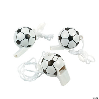 Soccer Ball-Shaped Whistles