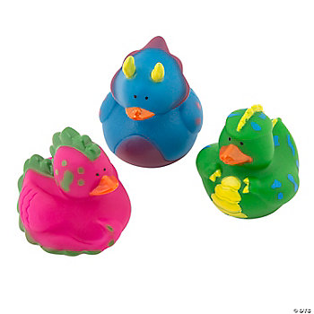 Dinosaur Rubber Duckies