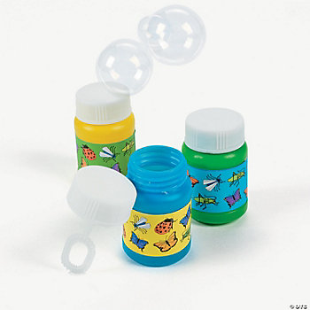 Mini Insect Bubble Bottles