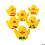 12 Motivational Rubber Duckies