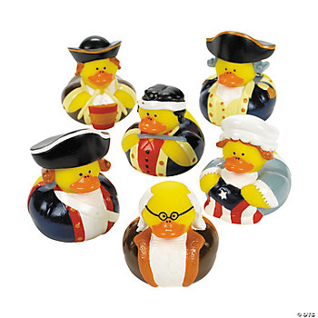 Historic Patriotic Rubber Duckies