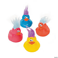 Crazy Hair Rubber Duckies