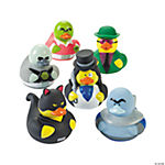 Vinyl Super Villain Rubber Duckies