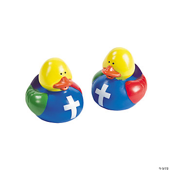 """Colors Of Faith"" Rubber Duckies"