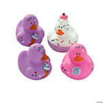 Vinyl Sweet Treats Rubber Duckies