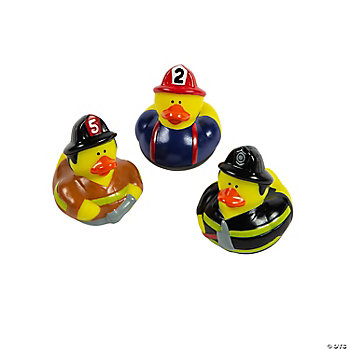 Firefighter Rubber Duckies