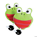 Plush Frog Catch Game
