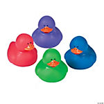Jewel Tone Rubber Duckies