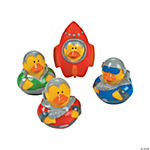 Vinyl Space Explorer Rubber Duckies
