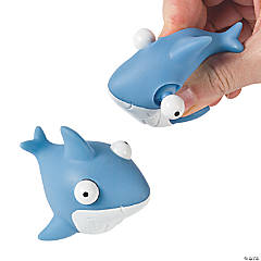 Sharks With Pop-Out Eyes