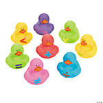 Math Symbol Rubber Duckies