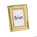 Goldtone Place Card Frames