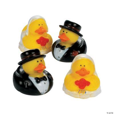 Bride & Groom Rubber Duckies
