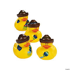 12 Fiesta Rubber Duckies