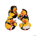 Rock Star Rubber Duckies