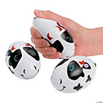 Relaxable Cow Footballs