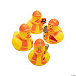 Vinyl Construction Rubber Duckies